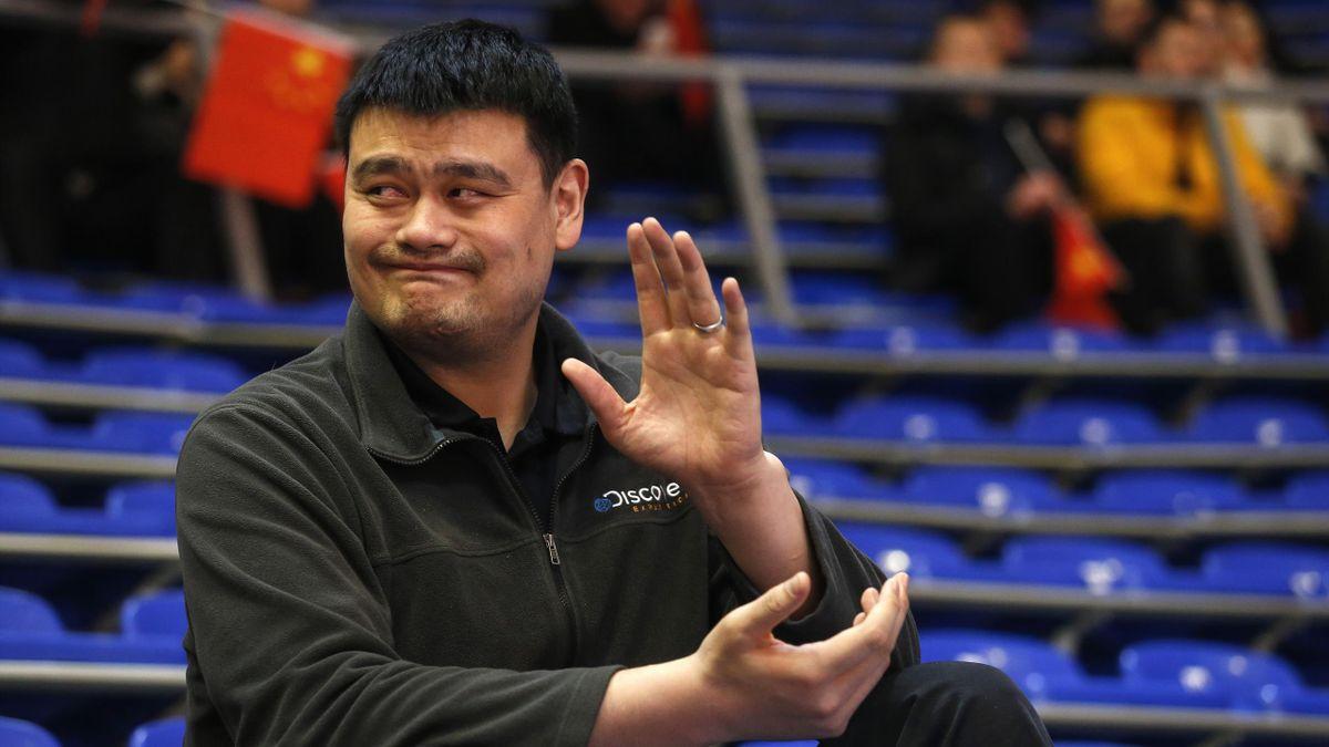 Яо Минь, Китай, Китайская баскетбольная ассоциация