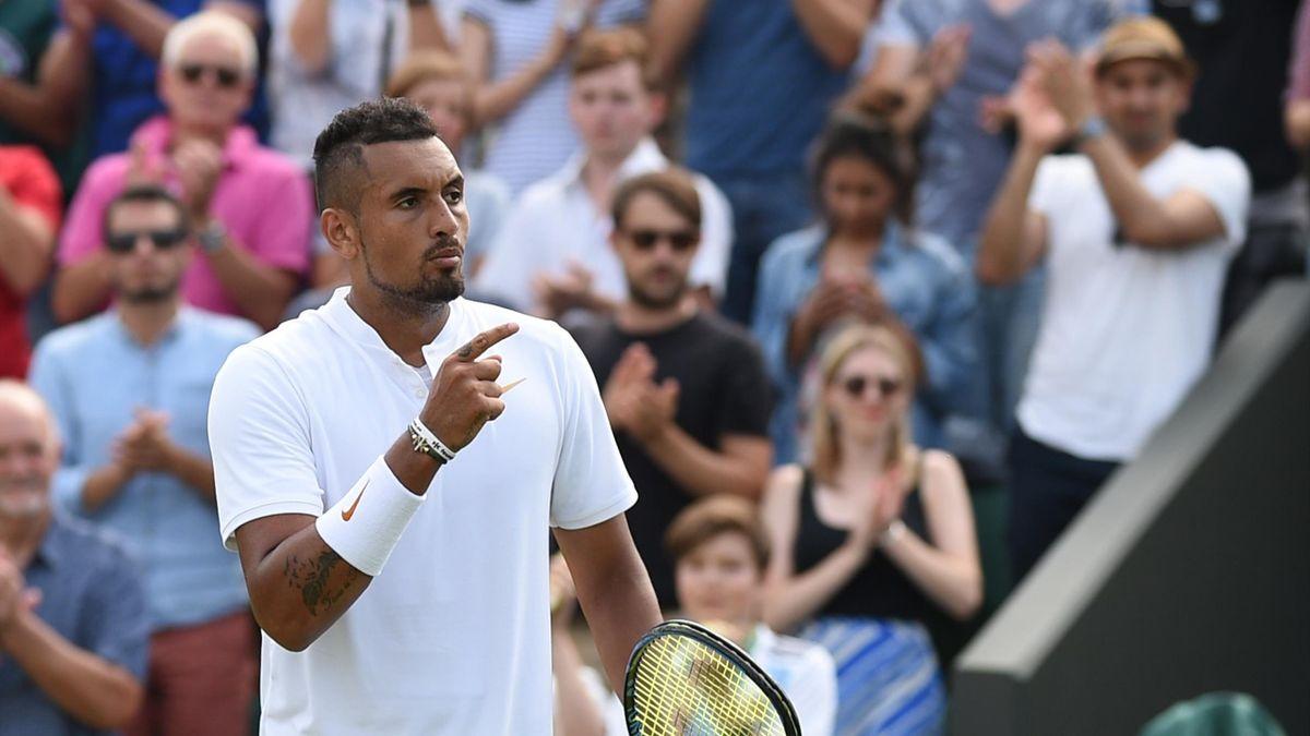 Nick Kyrgios - Wimbledon 2018