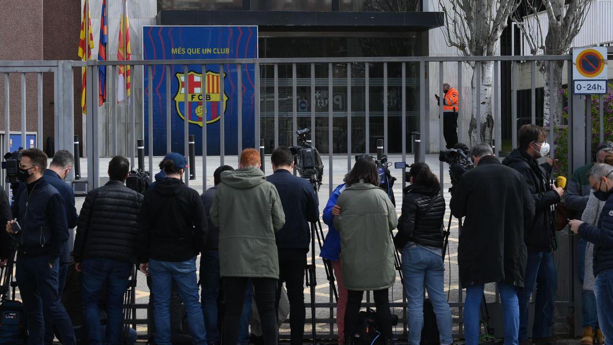 Razzia beim FC Barcelona