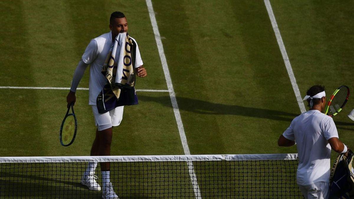 Nick Kyrgios vs Rafael Nadal, Wimbledon 2019