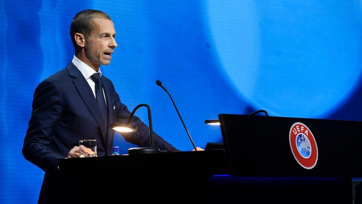 UEFA-Präsident Aleksander Ceferin hat den Super-League-Klubs erneut mit Strafen gedroht