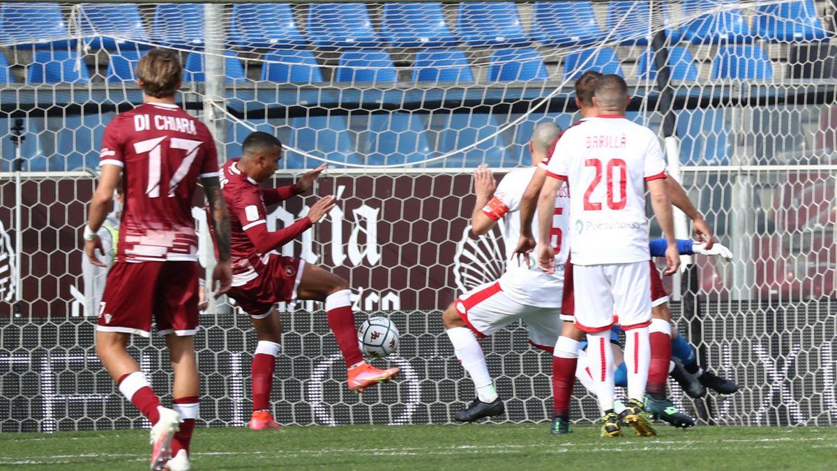 Reggina-Monza, Serie B 2020-2021: Il gol decisivo di Rigoberto Rivas (Reggina) (Getty Images)