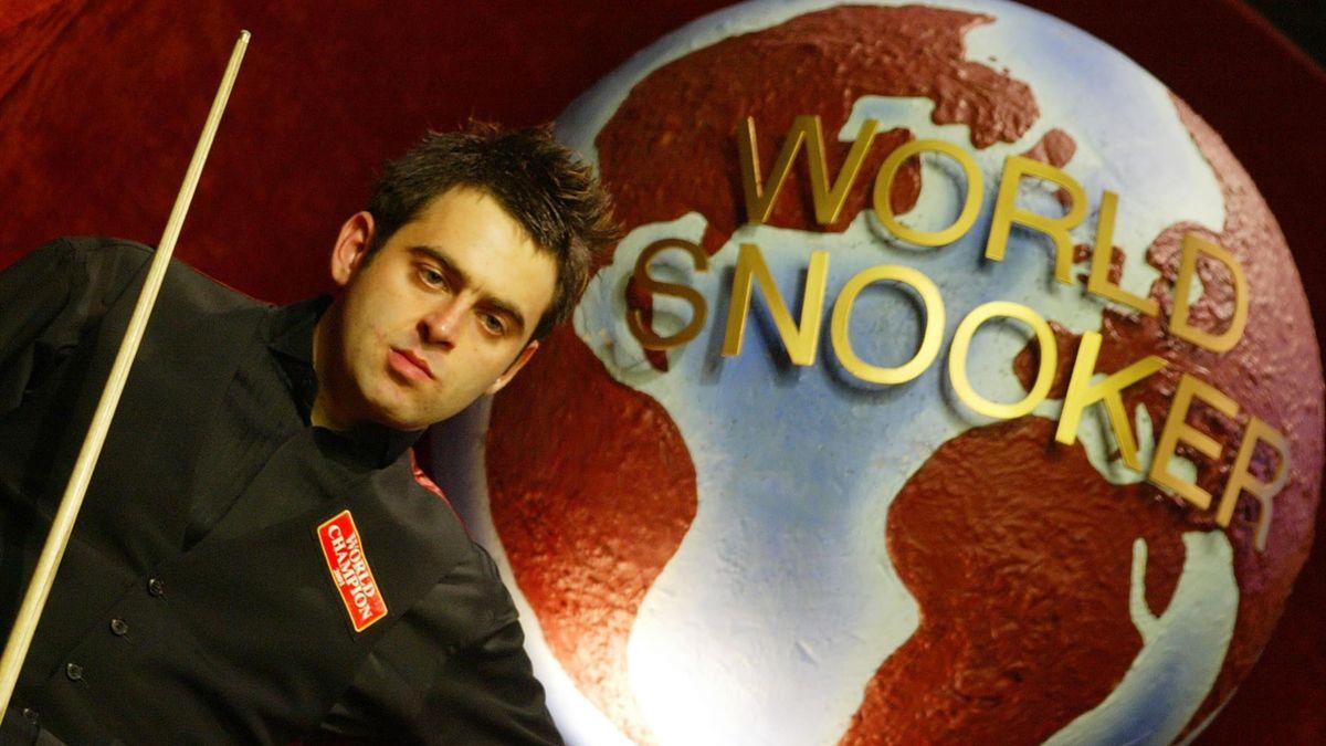 Ronnie O'Sullivan in 2002 la Crucible.