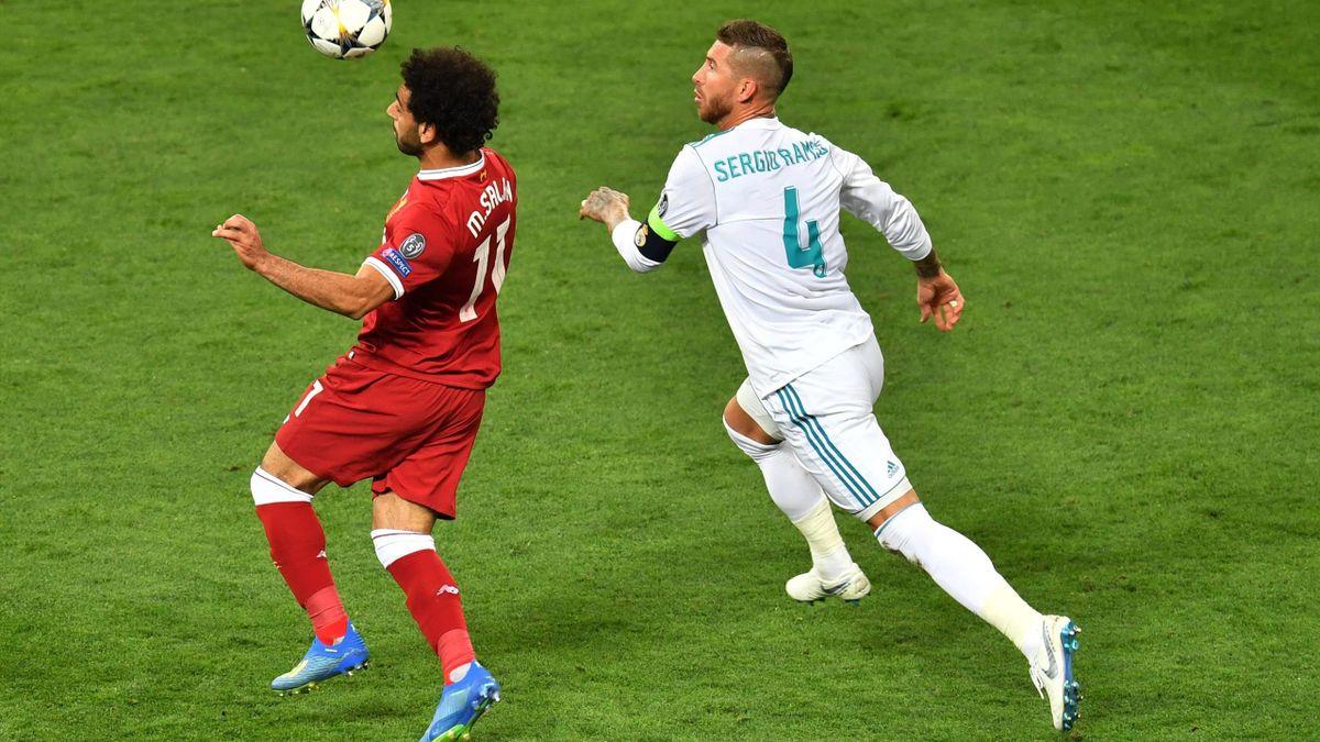 Mohamed Salah & Sergio Ramos