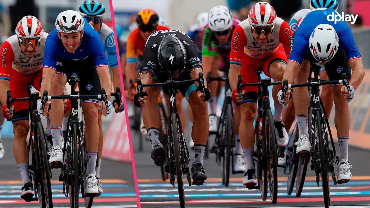 Arnaud Demare s-a impus la sprint în etapa a 4-a din Giro 2020