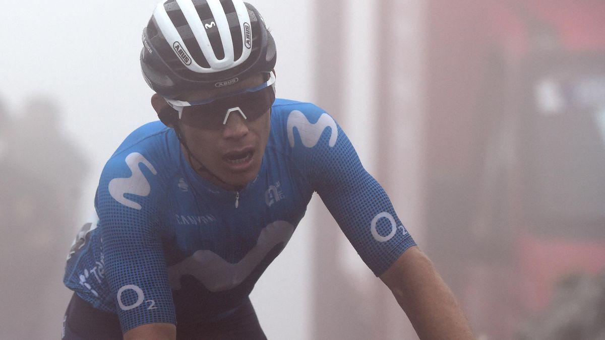 La Vuelta   Samenvatting van etappe 18 met finish op brute col in de mist