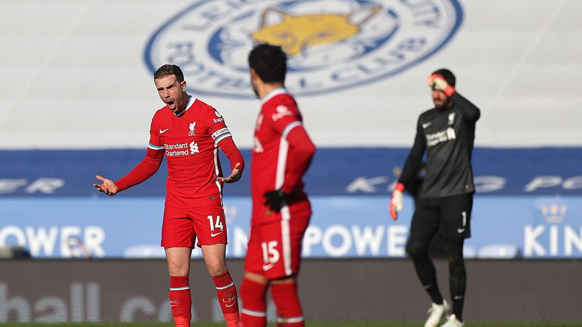 Liverpool meltdown to suffer Leicester defea