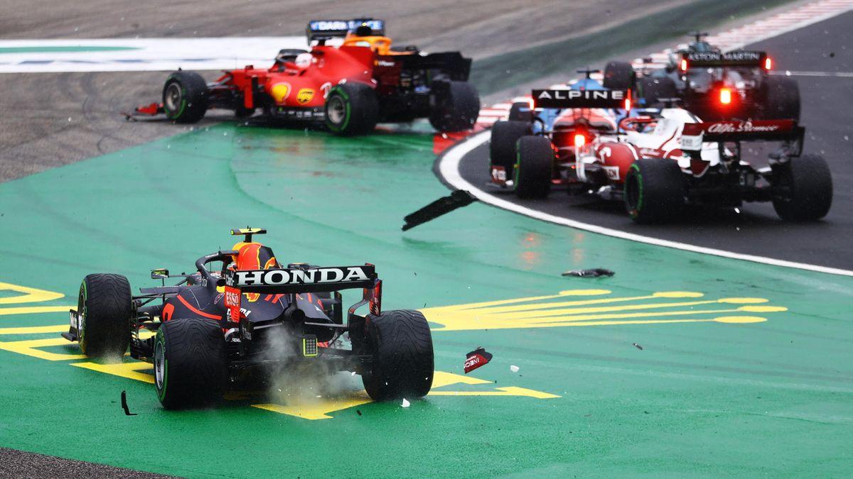 Catastrophe au premier virage du Grand Prix de Hongrie