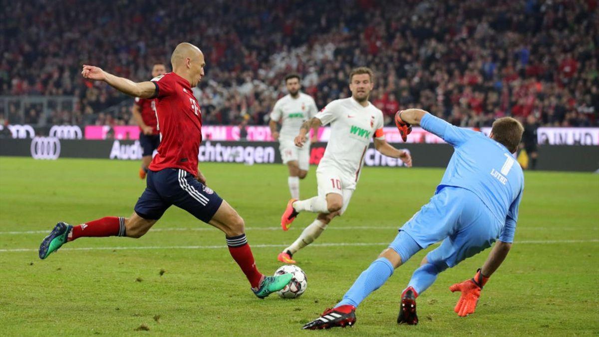 Robben goal augsburg neuer