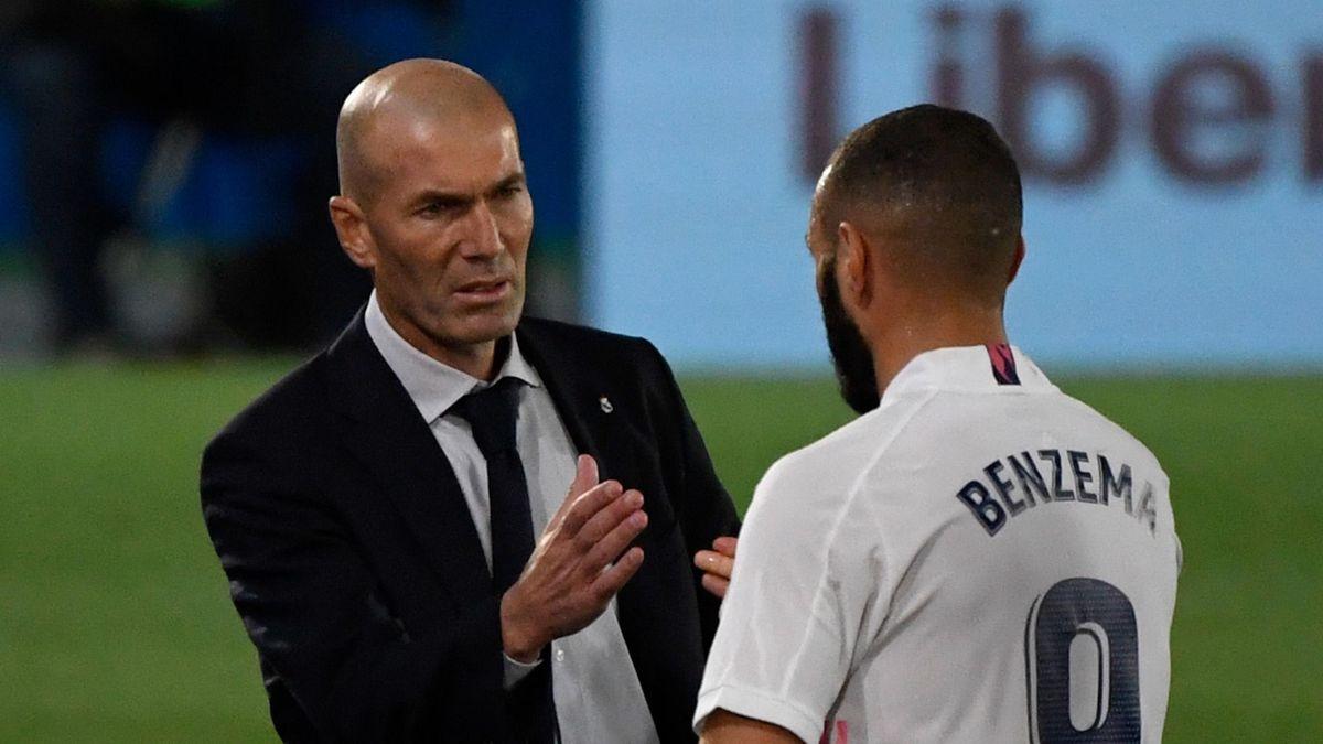 Real Madrid: Zinédine Zidane und Karim Benzema