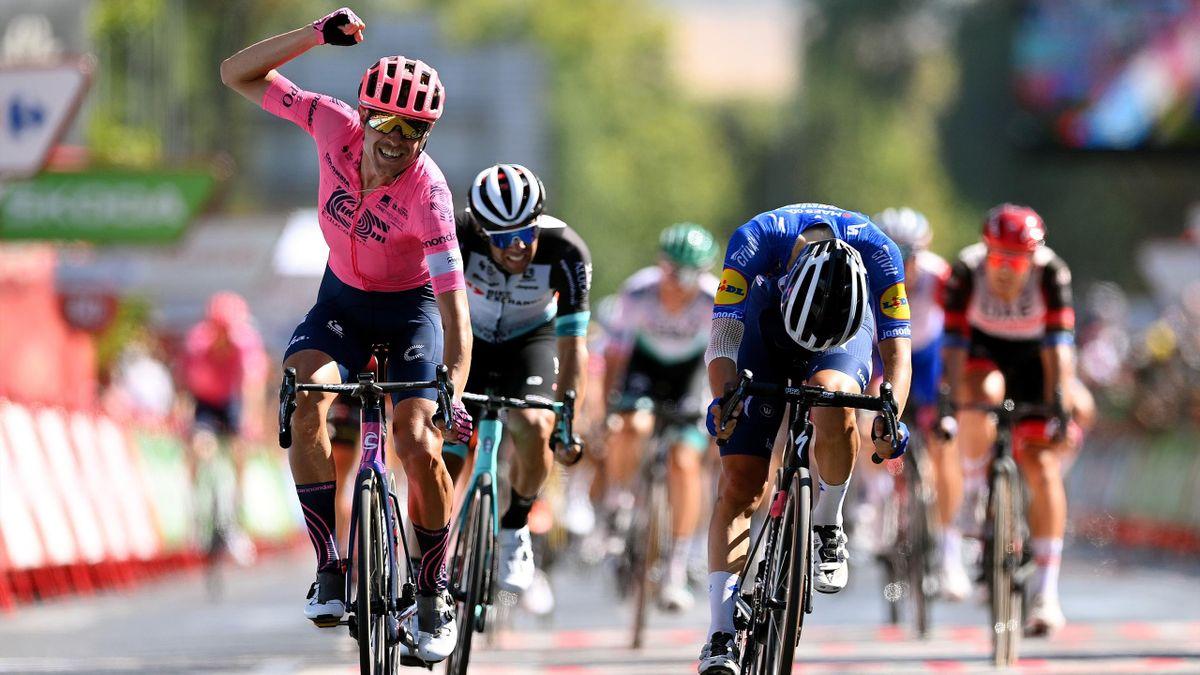 La Vuelta   Samenvatting van boeiende twaalfde rit met tweede zege van Cort Nielsen