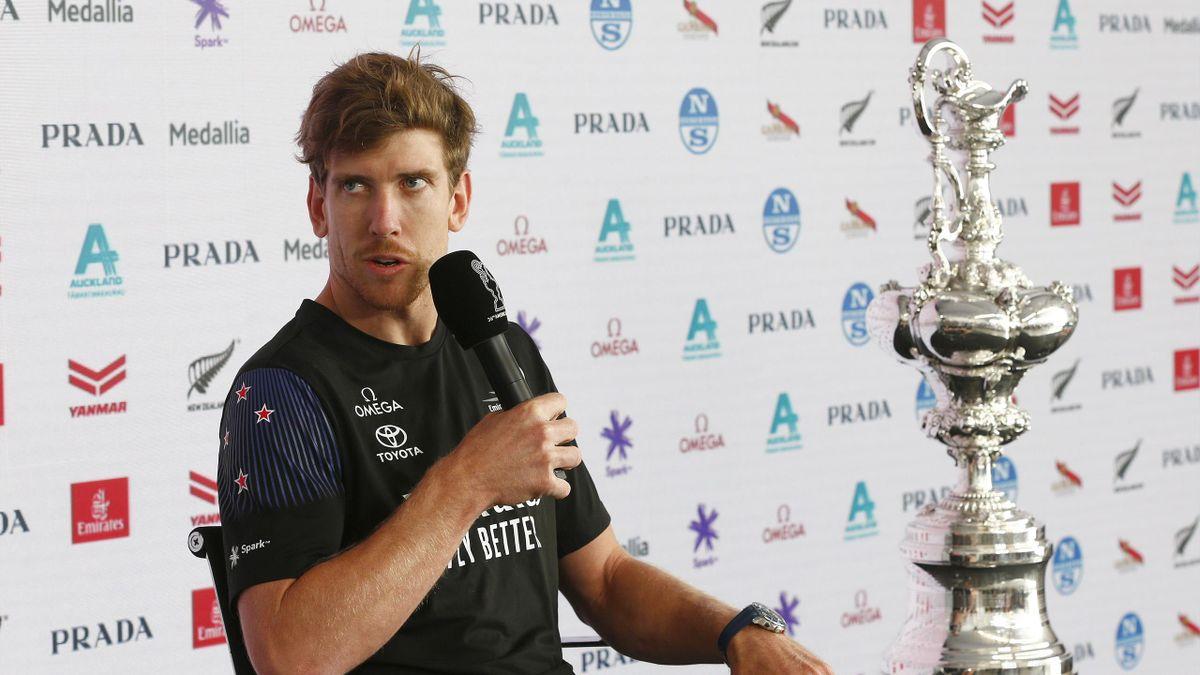 America's Cup 2021 - Peter Burling, Team New Zealand