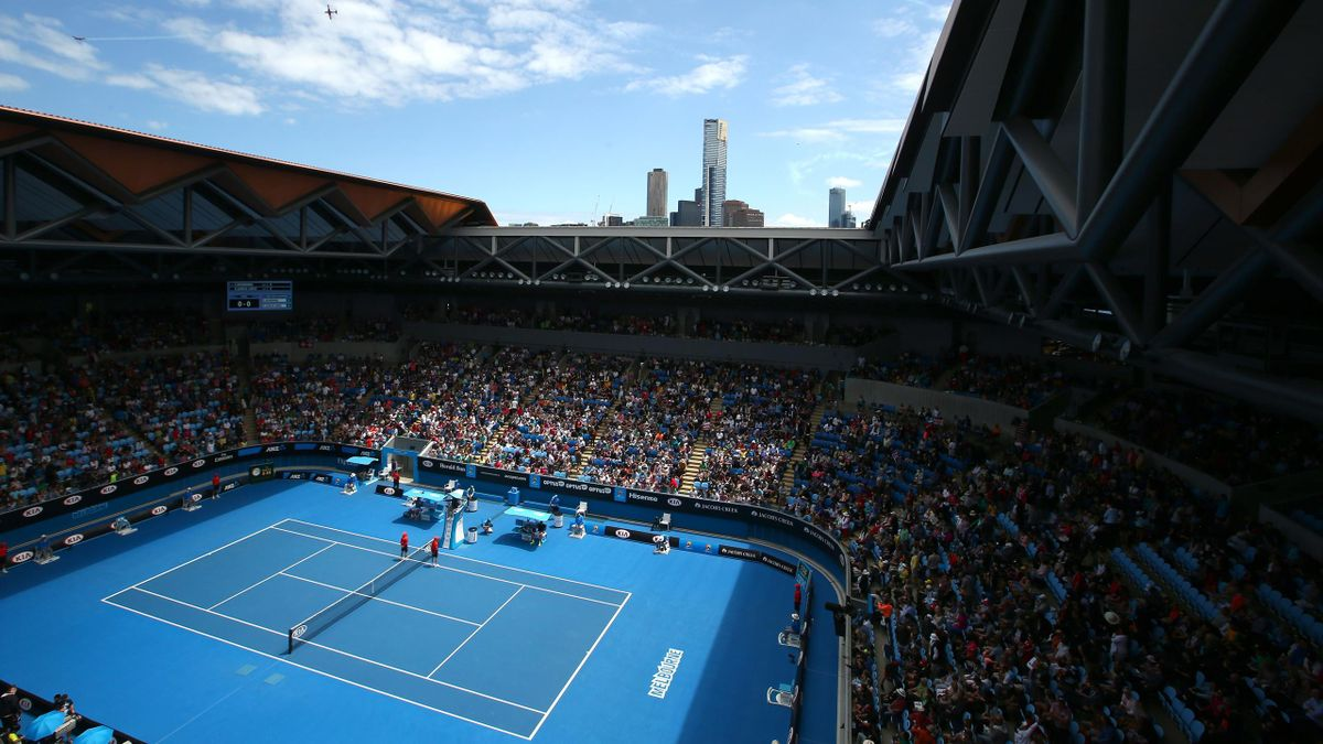 A general view of the redeveloped Margaret Court Arena during day eight of the 2015 Australian Open at Melbourne Park on January 26, 2015 in Melbourne