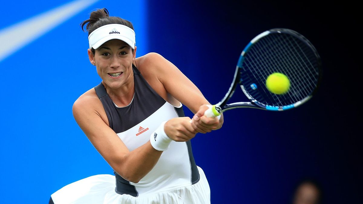 Garbine Muguruza progresses to the semi finals in Birmingham