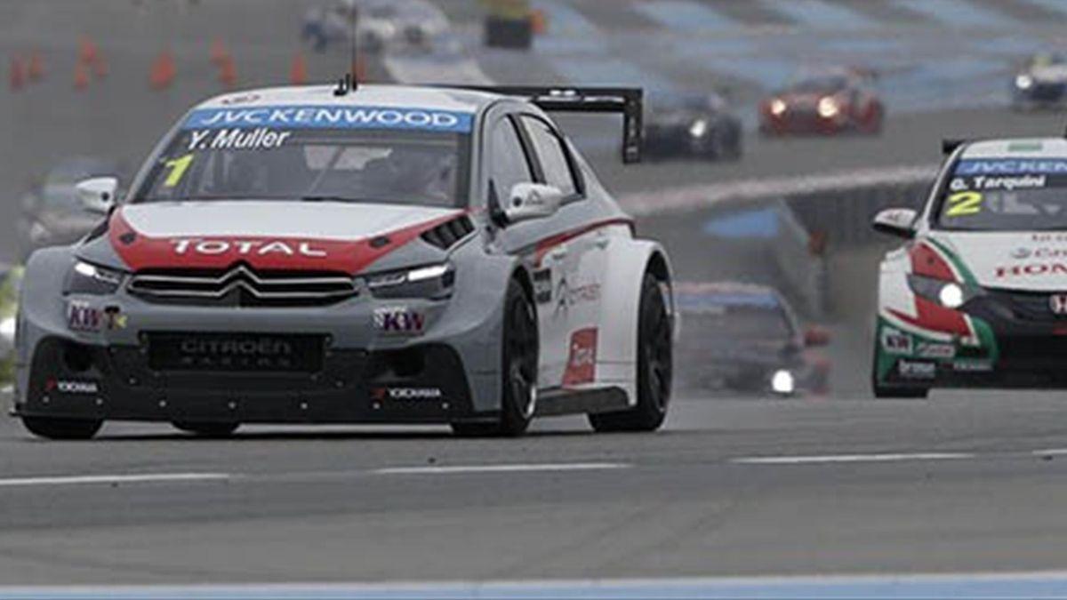 Yvan Müller (Citroën) en el WTCC
