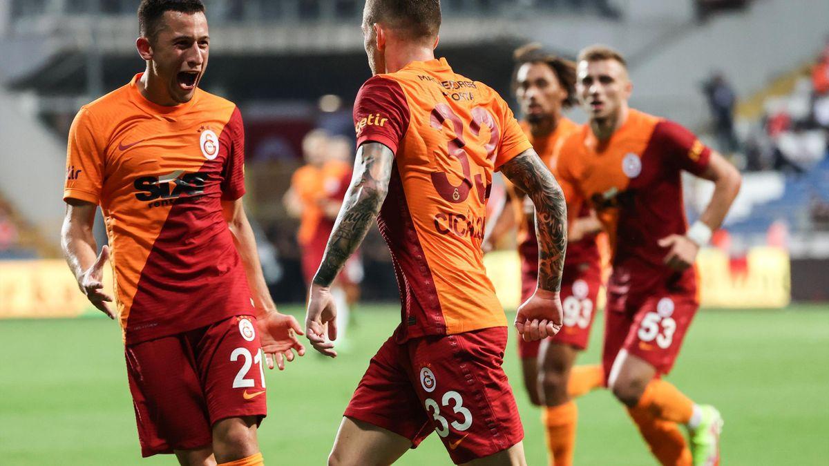 Cicâldău a deschis scorul pentru Galata din pasa lui Moruțan