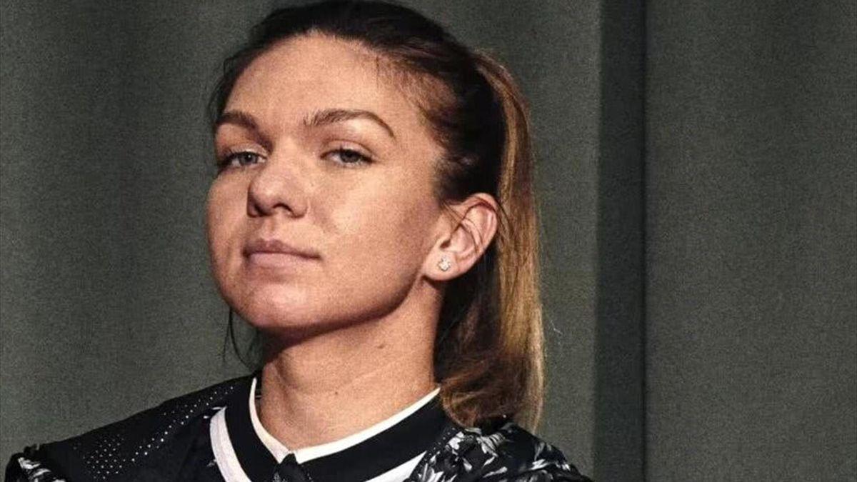 Simona Halep - interviu pentru Wilson Tennis