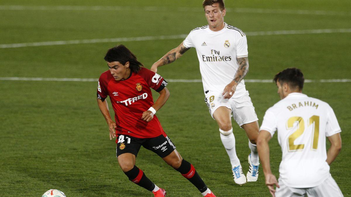 "Luka Romero e poreclit ""Messi mexican"""