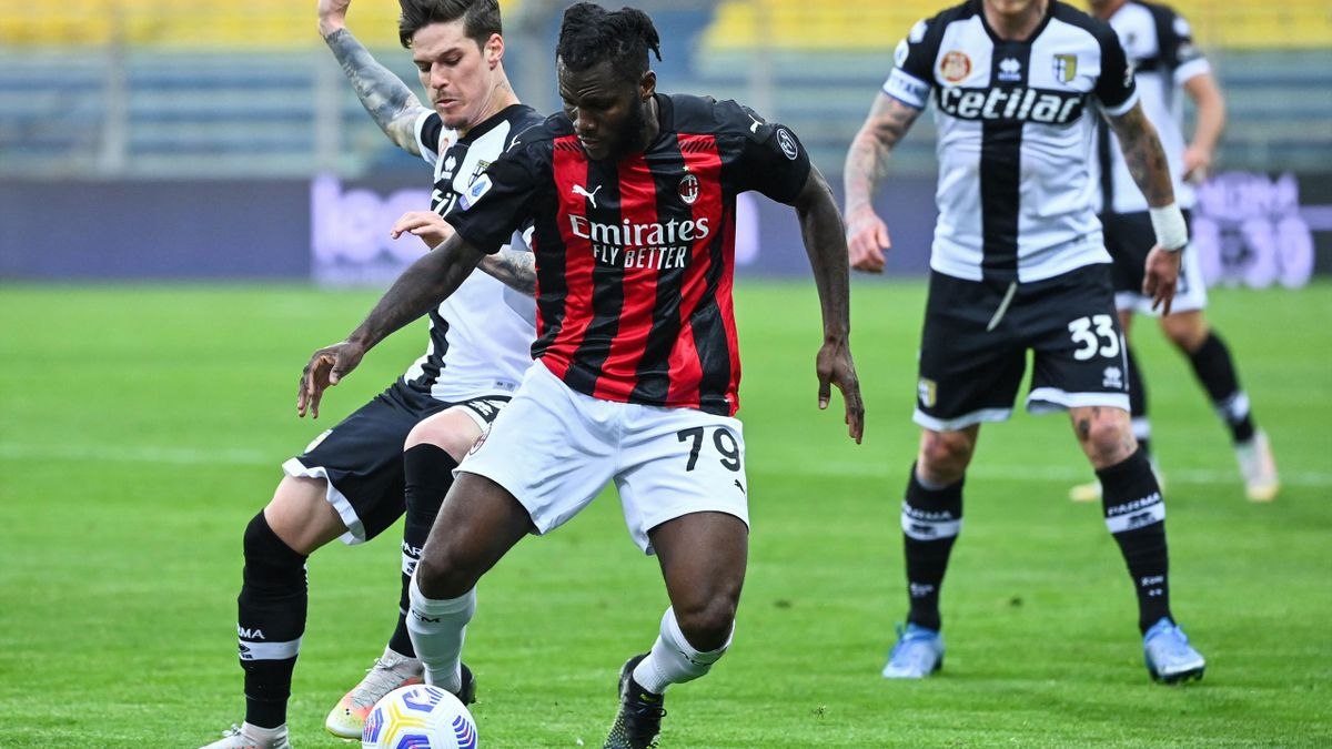 Dennis Man, în Parma - AC Milan