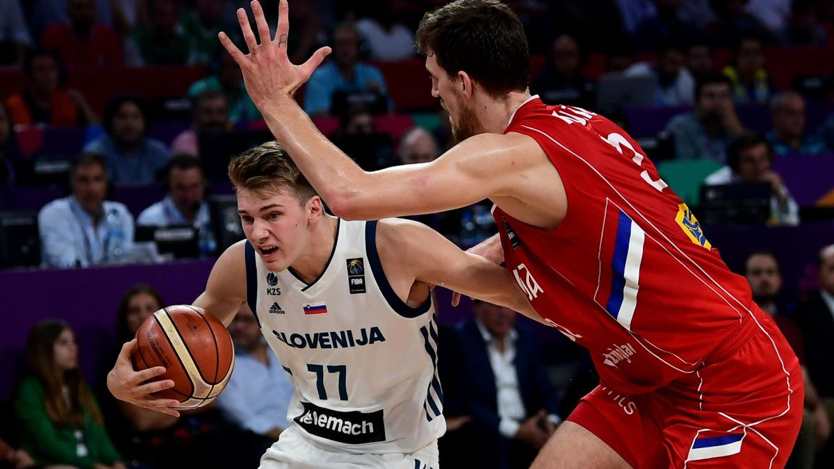 Doncic contro la Serbia, Eurobasket 2017