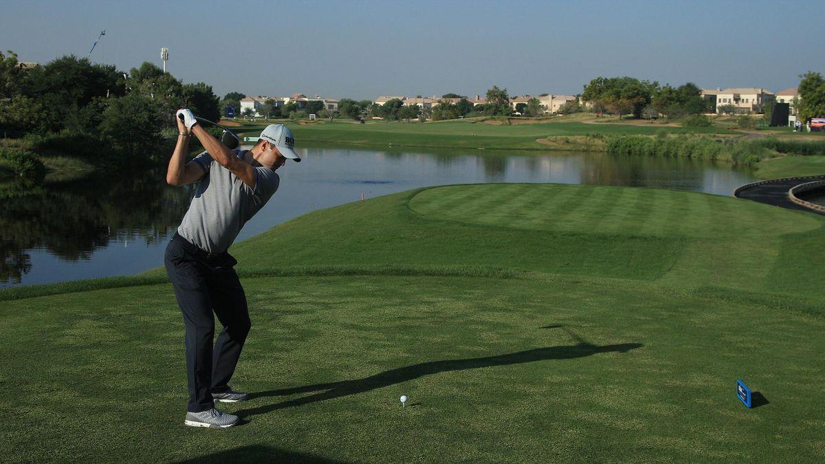 Martin Kaymer in Dubai