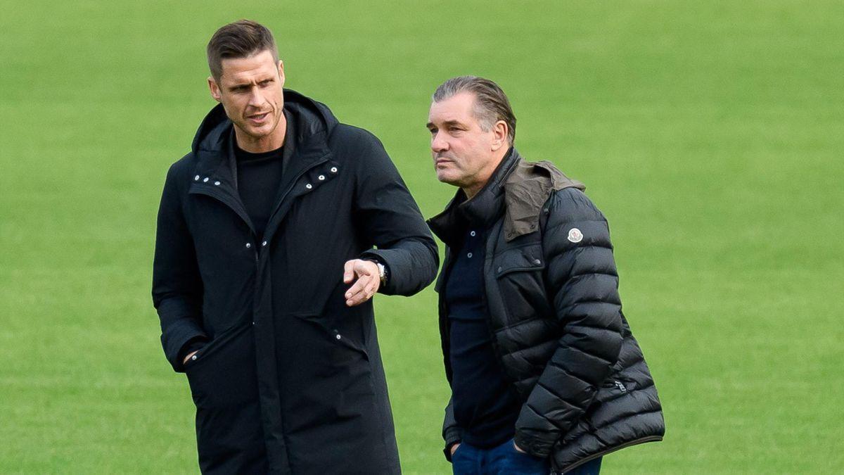 Sebastian Kehl (links) ersetzt ab 2022 Michael Zorc als BVB-Sportdirektor