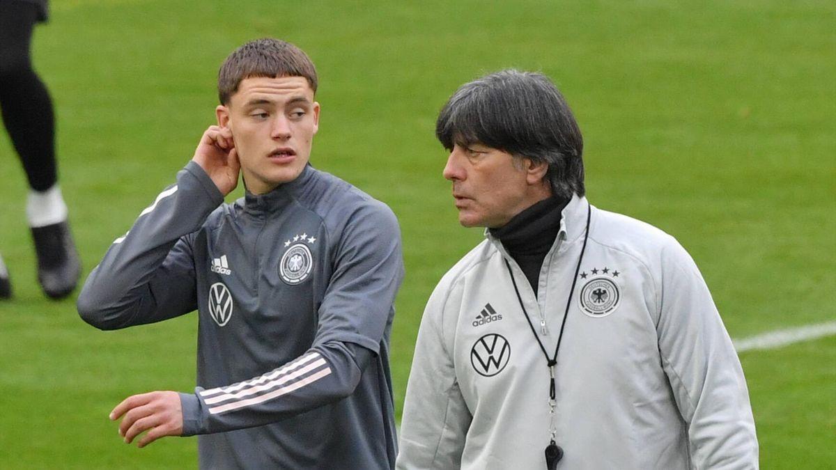 Флориан Виртц и Йоахим Лёв, сборная Германии