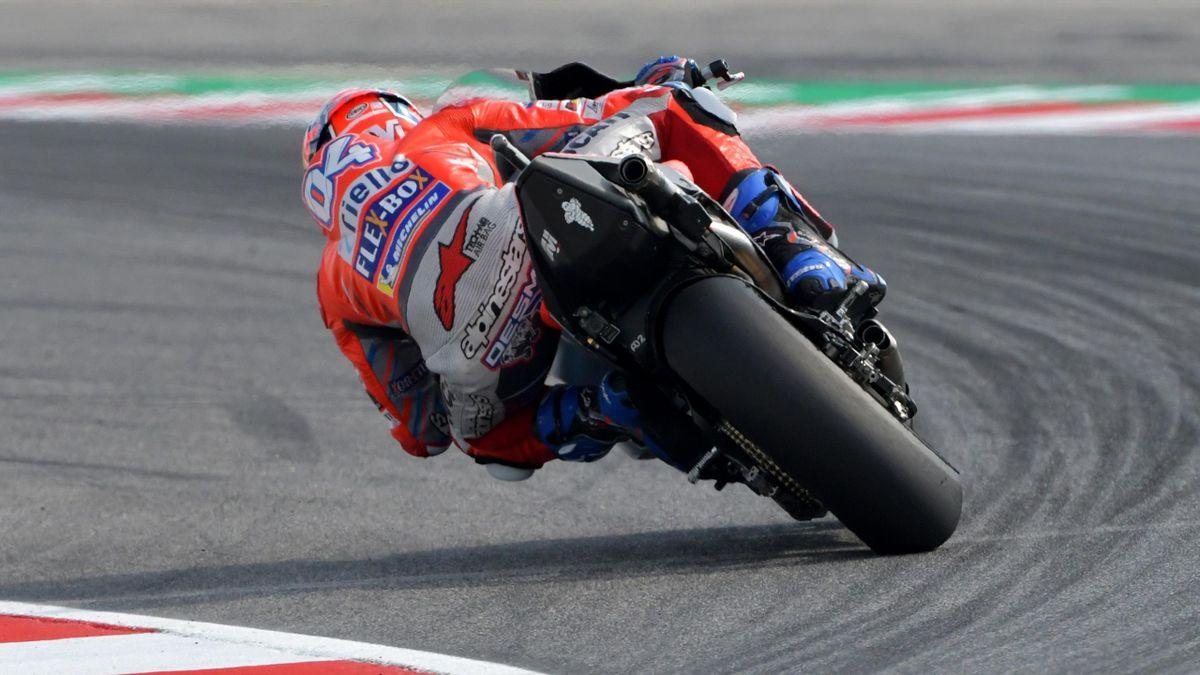 Andrea Dovizioso (Ducati Team) au Grand Prix de Saint-Marin 2018