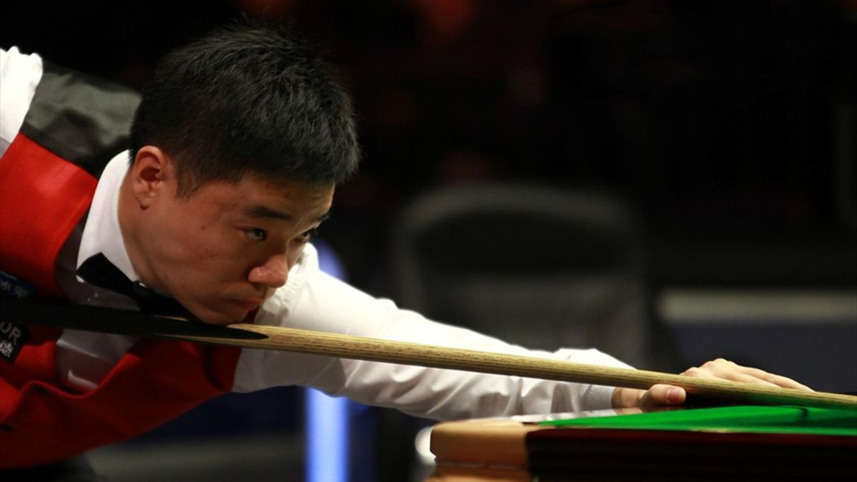 Ding Junhui made the sixth maximum break of his career - picture via World Snooker.
