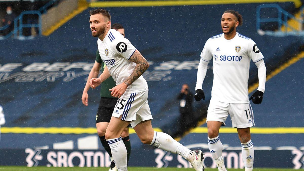 Stuart Dallas (Leeds) buteur face à Tottenham