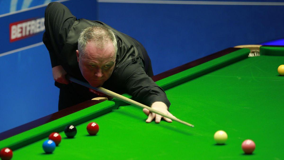 John Higgins was in decent form in Sheffield.