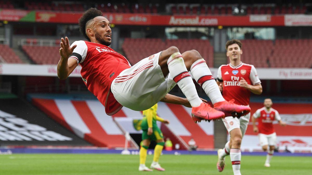 Pierre-Emerick Aubameyang vom FC Arsenal