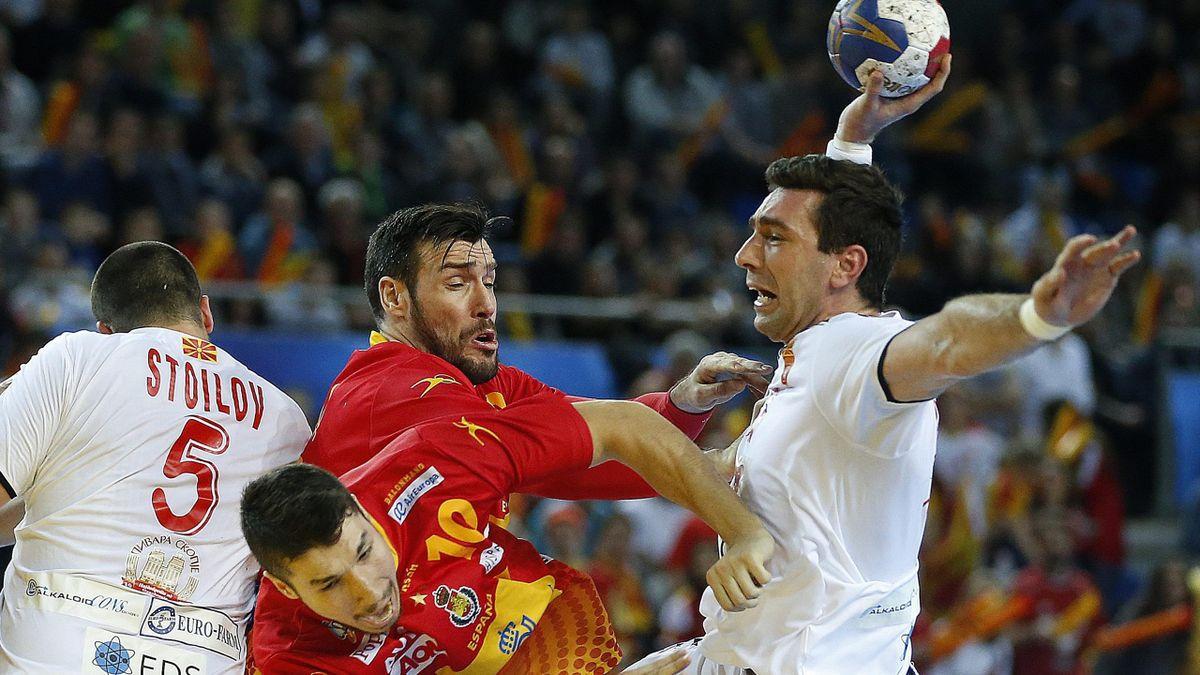 España-Macedonia- Mundial de balonmano 2017