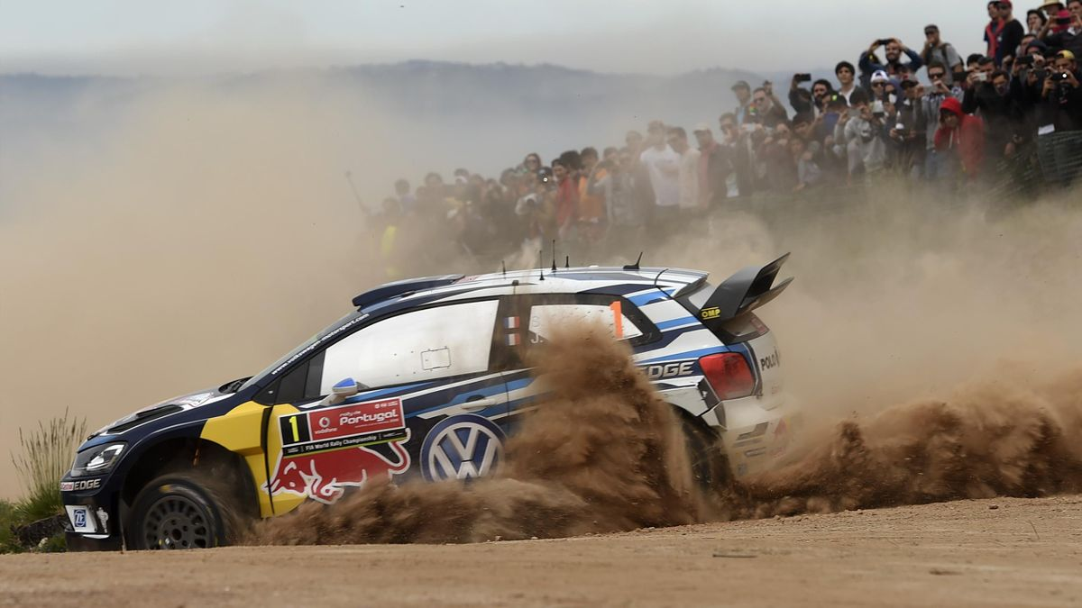 Sébastien Ogier (Volkswagen) au Rallye du Portugal 2016