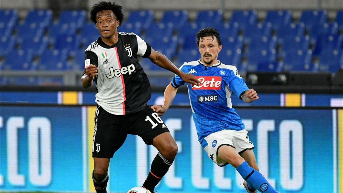 Cuadardo, Mario Rui - Juventus-Napoli - Coppa Italia 2019/2020 - Getty Images