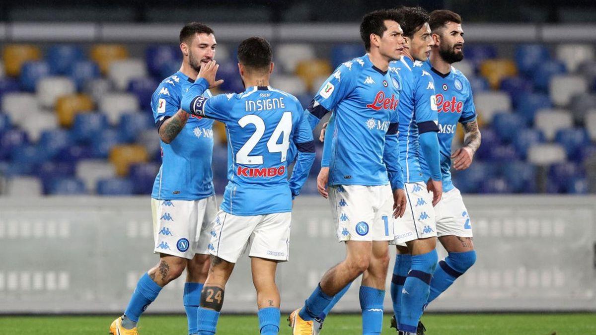 Politano - Napoli-Spezia - Coppa Italia 2020/2021 - Getty Images