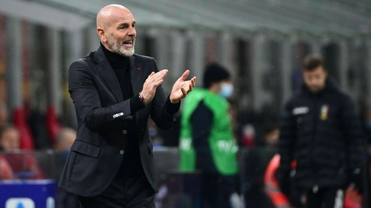Pioli - Milan-Atalanta - Serie A 2020/2021 - Getty Images