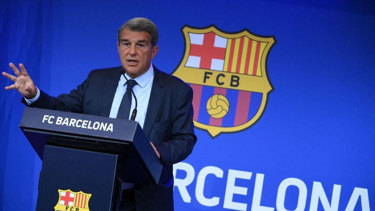 Joan Laporta ist Präsident des FC Barcelona
