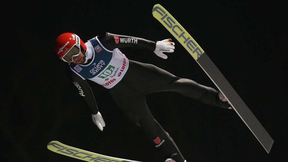 Markus Eisenbichler beim Teamspringen in Wisla