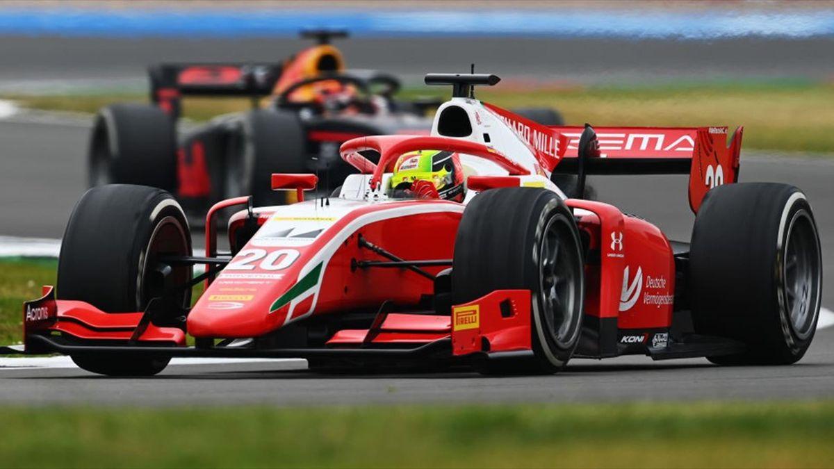 Mick Schumacher (Prema) in Silverstone