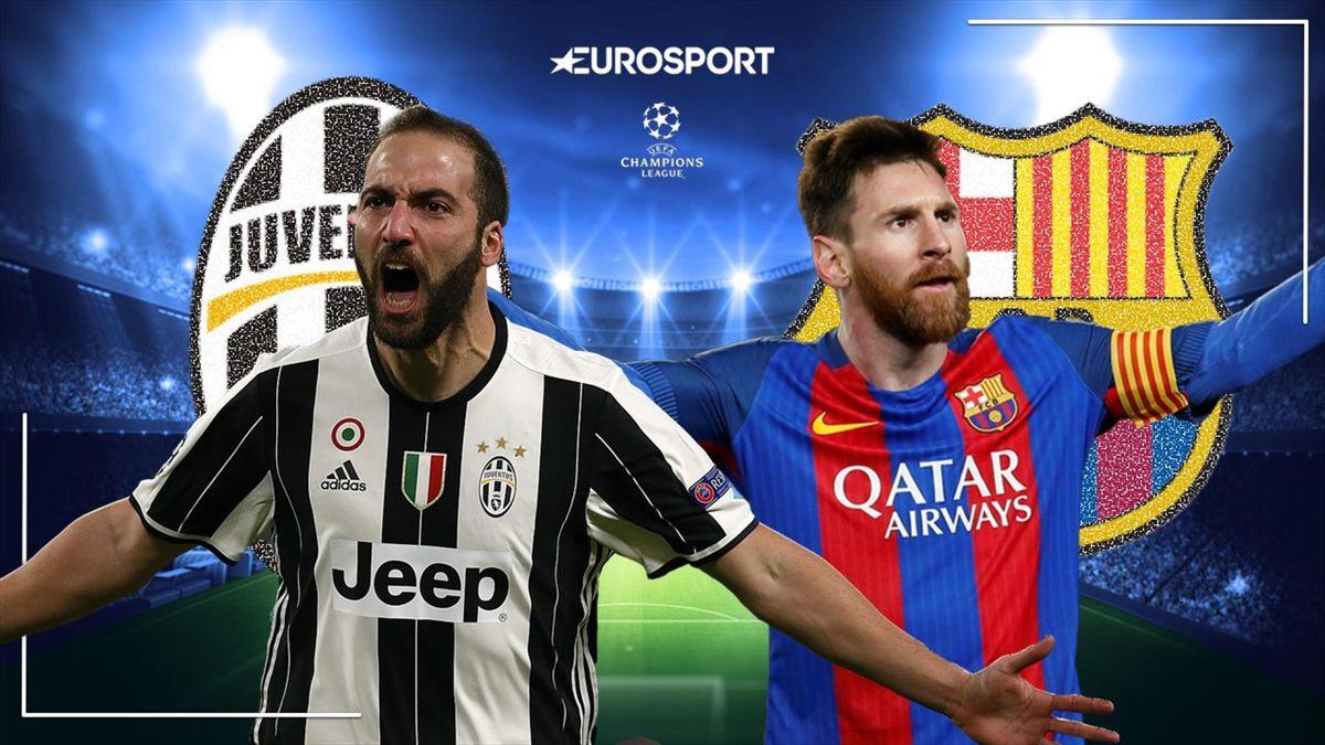 juventus barcellona in diretta tv e live streaming eurosport juventus barcellona in diretta tv e