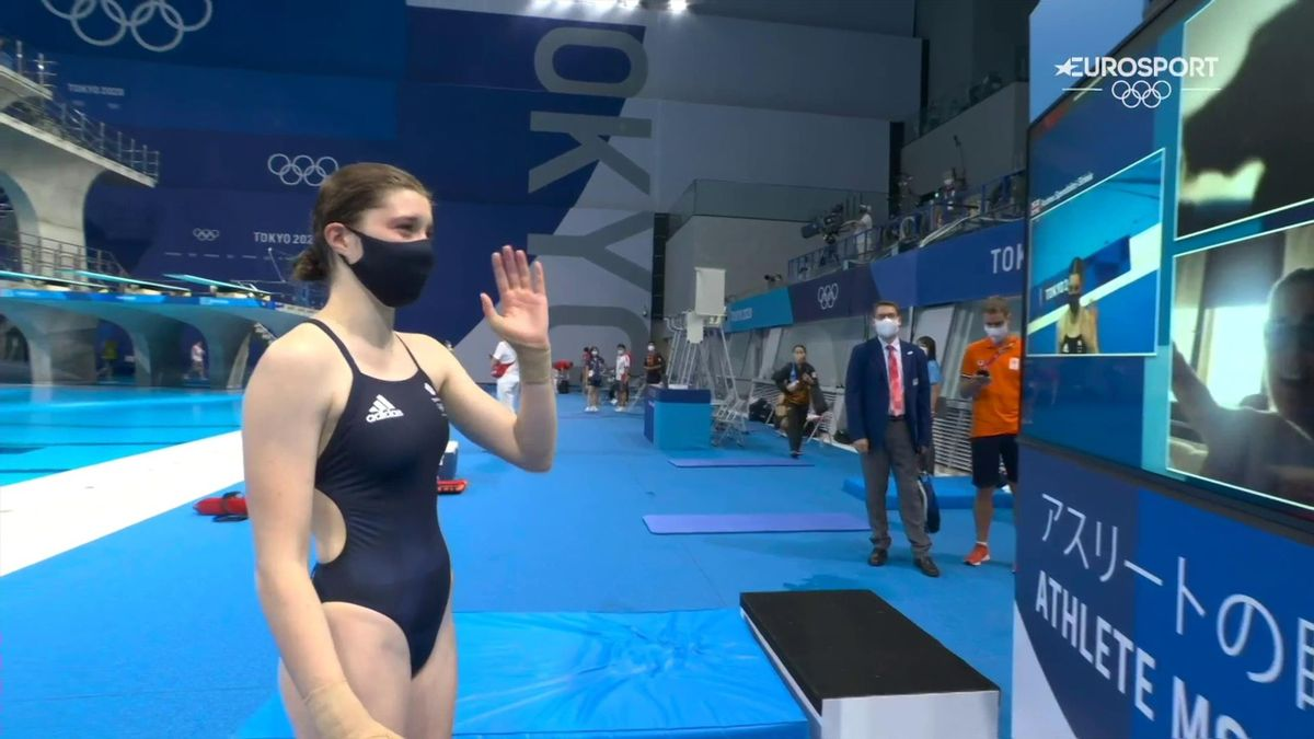 'Lovely moment!' - GB's Spendolini-Sirieix in tearful poolside Zoom with family