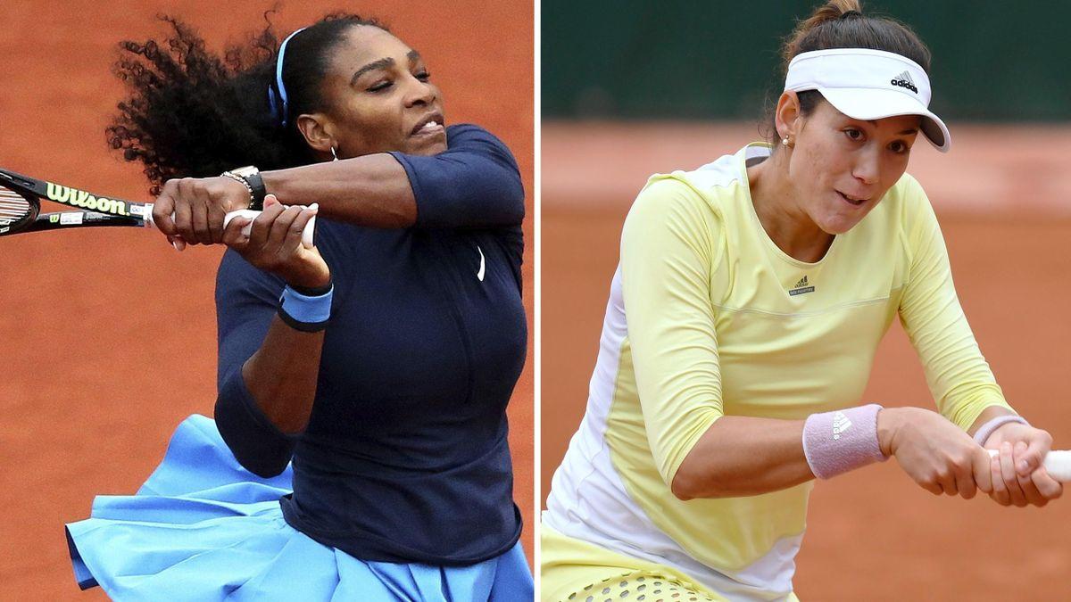 Serena Williams vs Garbiñe Muguruza