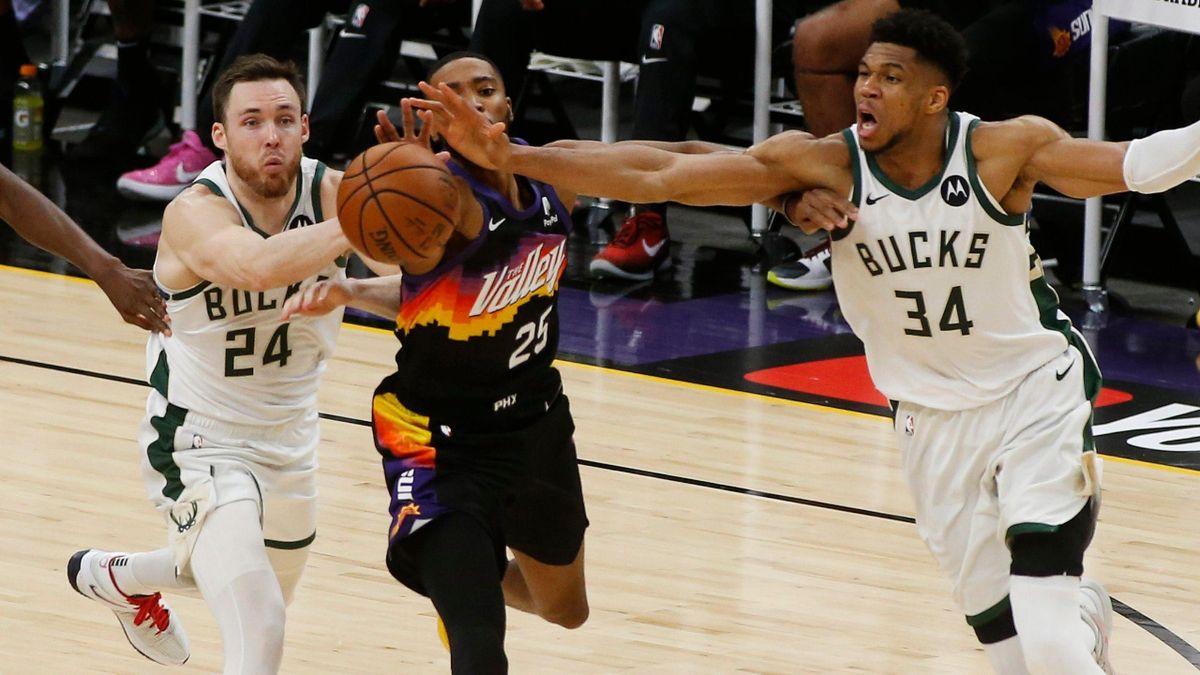 Phoenix Suns - Milwaukee Bucks / Finales NBA 2021