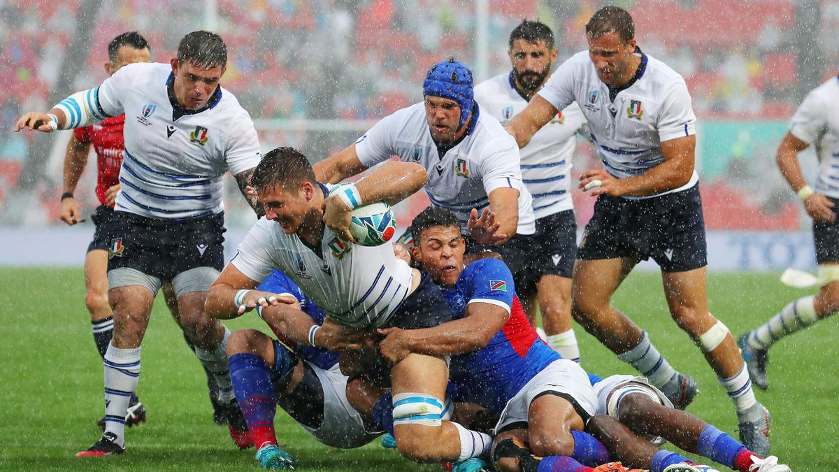 Polledri - Italia-Namibia - 2019 Rugby World Cup - Getty Images