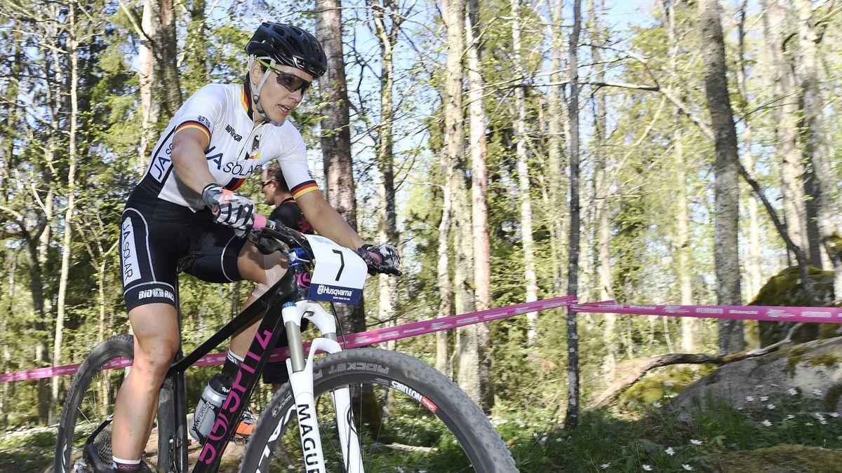 Mountainbikerin Sabine Spitz hofft noch auf Start bei Olympia in Rio 2016