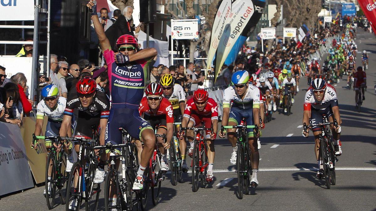 Davide Cimolai gana la sexta etapa de la Volta a Catalunya