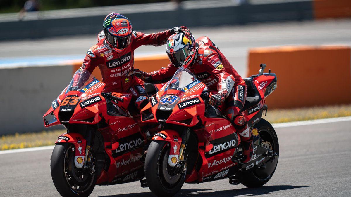 Pecco Bagnaia e Jack Miller sono fra i favoriti anche al GP di Le Mans