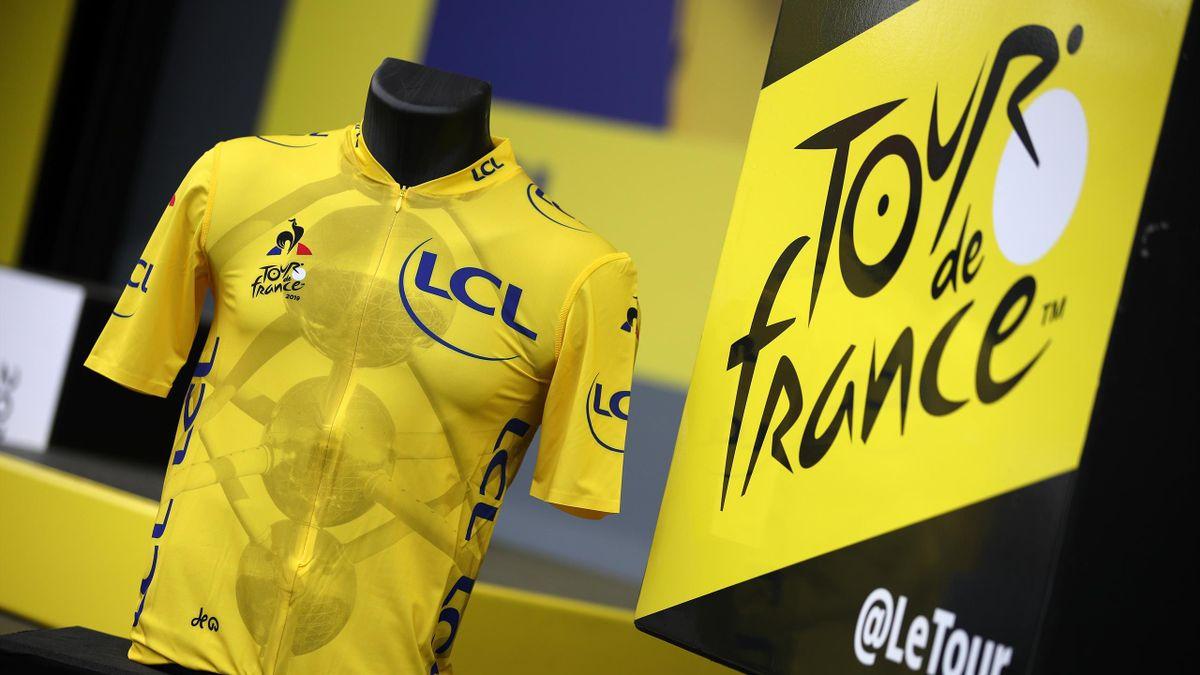 Maillot amarillo (Tour de Francia 2019)