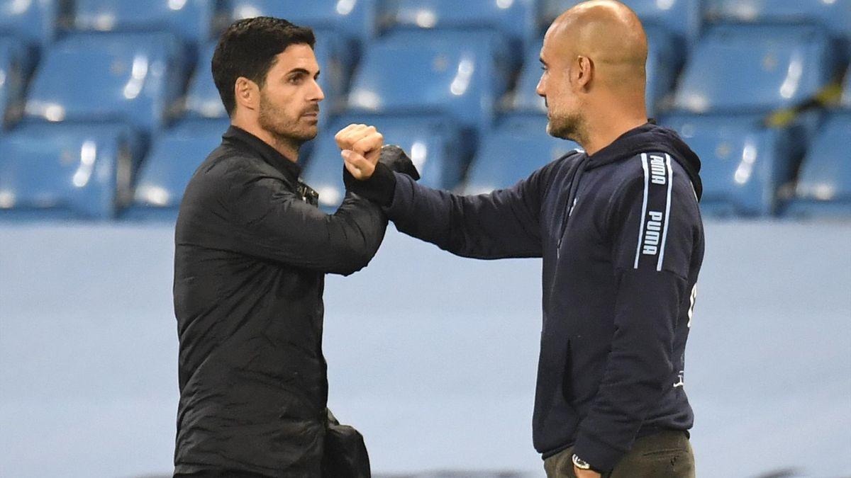 Mikel Arteta i-a mulțumit lui Pep Guardiola după primul trofeu din cariera de manager